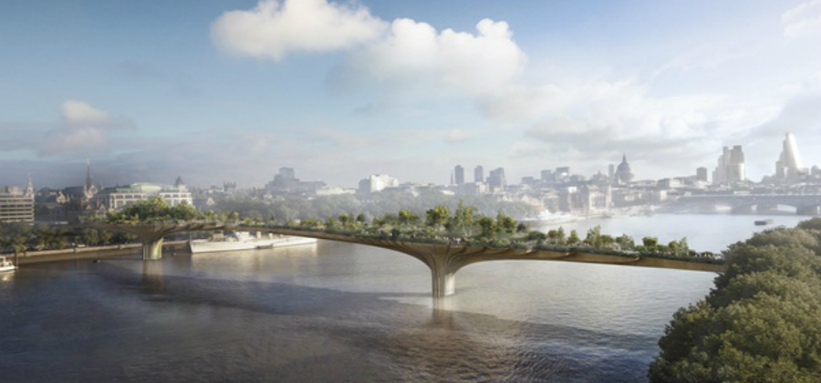 ARCHITECT WANTED FOR LONDON'S SATIRICAL GARDEN BRIDGE ALTERNATIVES