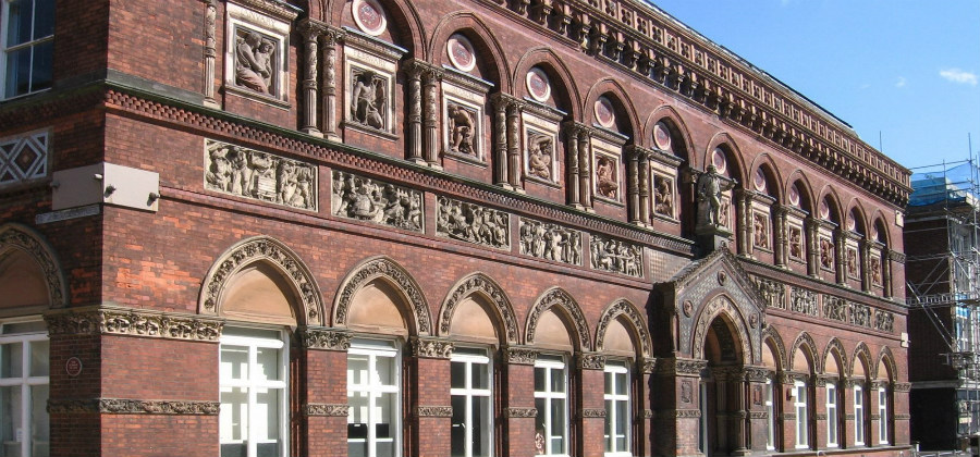 ARCHITECT WANTED FOR WEDGWOOD INSTITUTE, STOKE